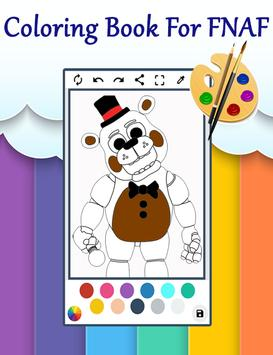 Coloring Book Five Nights Kids For Android