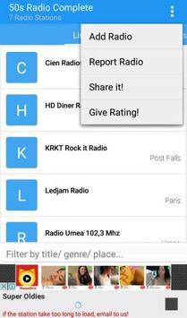 50s Radio Complete apk screenshot
