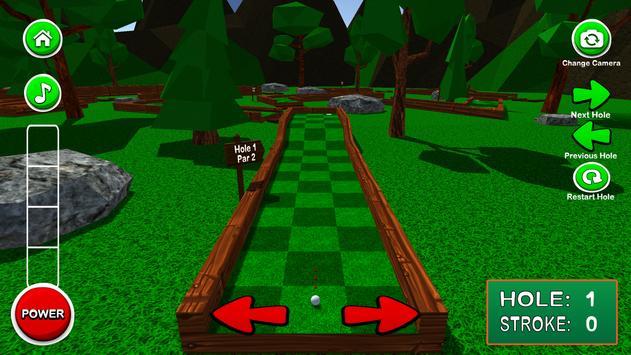 Mini Golf 3D Classic 2 screenshot 7