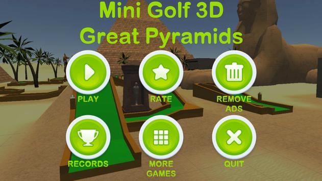 Mini Golf 3D: Great Pyramids screenshot 4