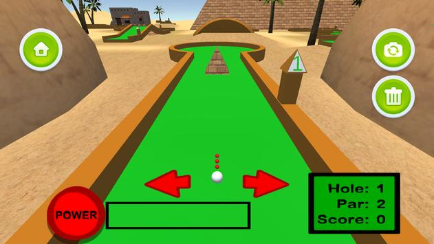 Mini Golf 3D: Great Pyramids screenshot 6