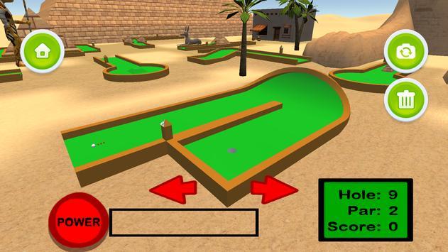Mini Golf 3D: Great Pyramids screenshot 8