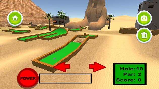Mini Golf 3D: Great Pyramids poster