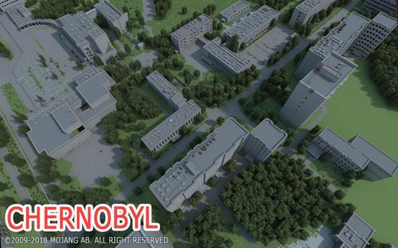 Pripyat City map for MCPE screenshot 1
