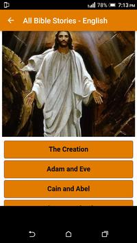 All Bible Stories in English - Full Version - Free poster