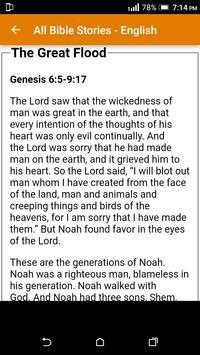 All Bible Stories in English - Full Version - Free screenshot 16