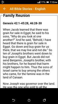 All Bible Stories in English - Full Version - Free screenshot 12