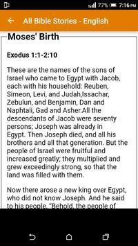 All Bible Stories in English - Full Version - Free screenshot 13