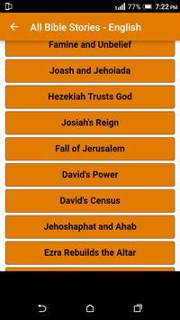 All Bible Stories in English - Full Version - Free screenshot 28