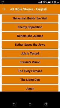 All Bible Stories in English - Full Version - Free screenshot 29