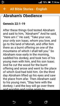 All Bible Stories in English - Full Version - Free screenshot 20