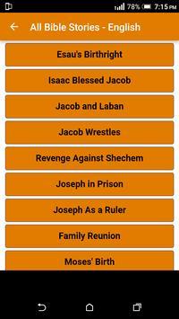 All Bible Stories in English - Full Version - Free screenshot 22