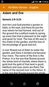 All Bible Stories in English - Full Version - Free screenshot 4
