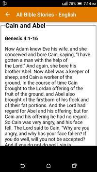 All Bible Stories in English - Full Version - Free screenshot 6