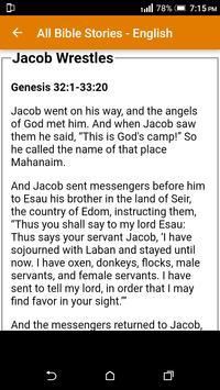 All Bible Stories in English - Full Version - Free screenshot 9