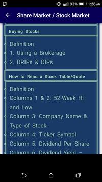 Stock & Share Market Complete Course - Get Expert screenshot 18