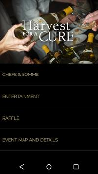 Harvest for a Cure MS Wine App poster