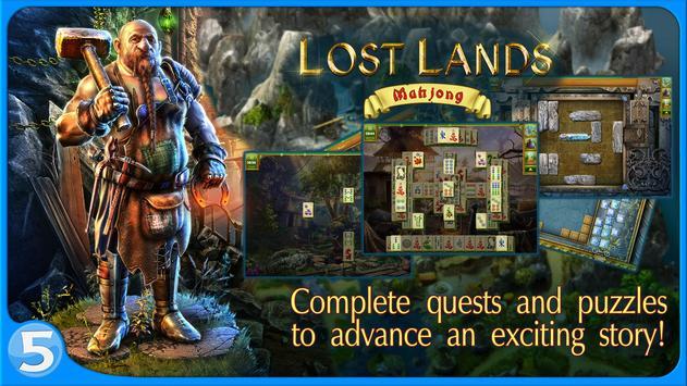 Lost Lands: Mahjong screenshot 1