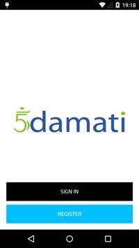 5Damati Service Provider apk screenshot