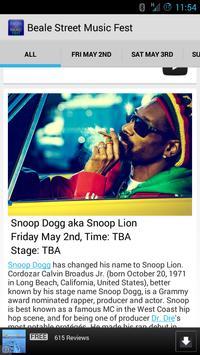 Beale Street Music Fest poster