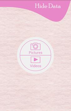 Hide Data apk screenshot