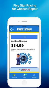5 Star Service screenshot 1