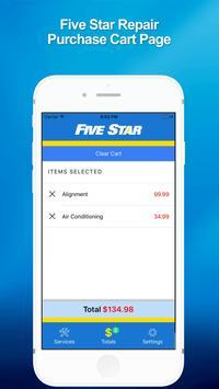 5 Star Service screenshot 3