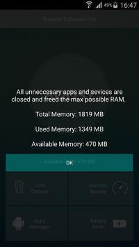Fix Booster apk screenshot