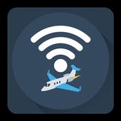 free airplane wifi icon