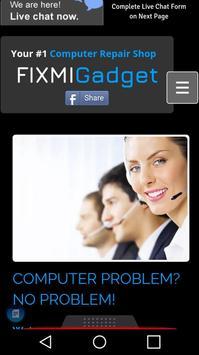 FixMiGadget Remote Support & Repair poster