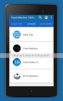 Fixed Matches apk screenshot