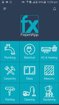FixpertApp - Home Maintenance App in Jordan screenshot 1