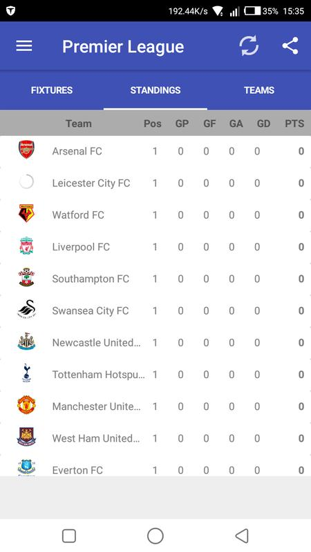Epl 2017 18 fixtures apk download gratis olahraga apl - France league one table standing ...