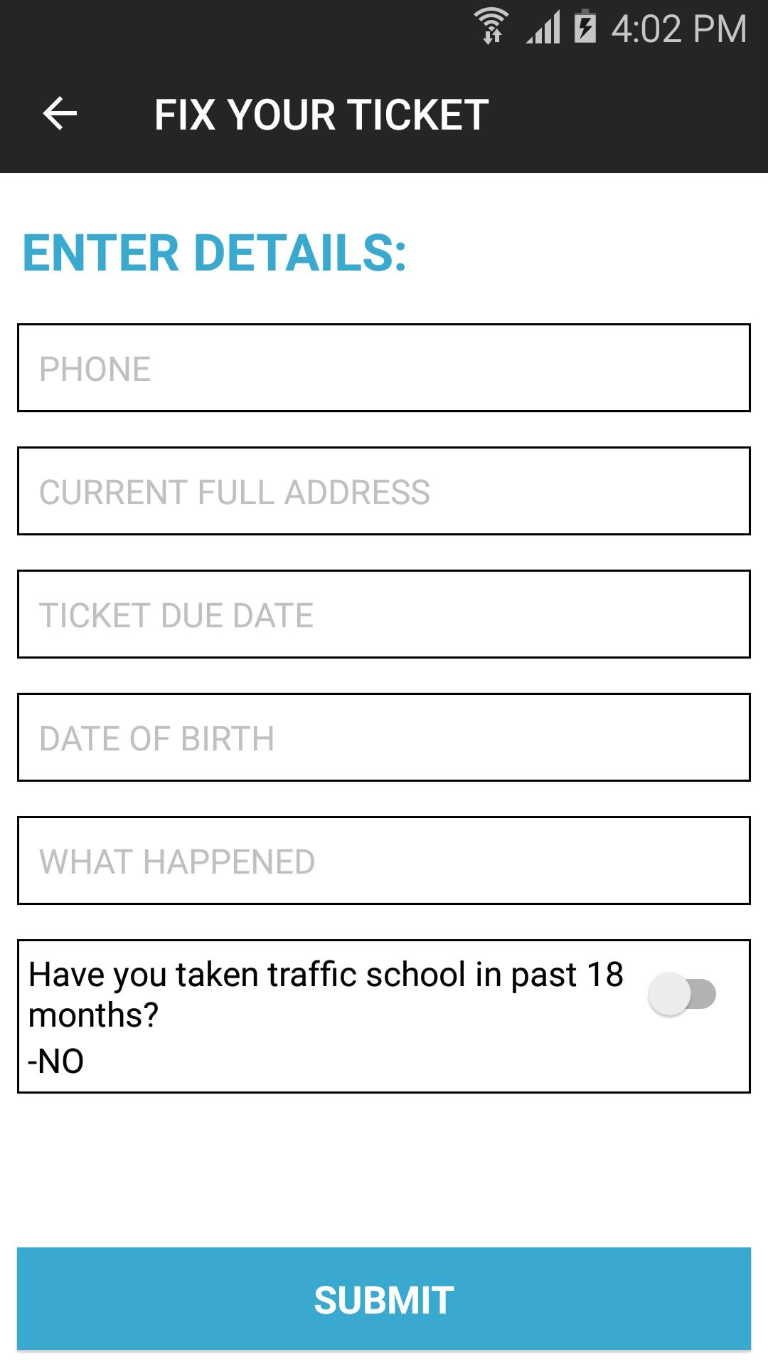 Fix A Ticket >> Fix Your Ticket Roberts Roberts Law Firm For Android