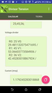Voltage Divider screenshot 2