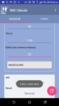 Body Mass Index BMI screenshot 1