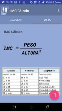 Body Mass Index BMI screenshot 2