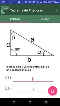 Pythagoras theorem poster