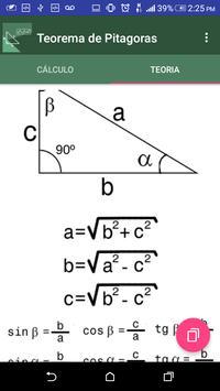 Pythagoras theorem screenshot 2