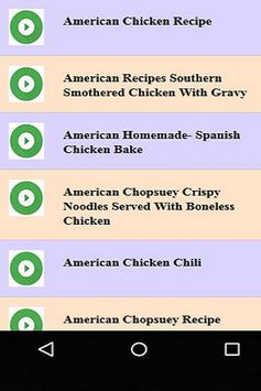 American Chicken Recipe apk screenshot