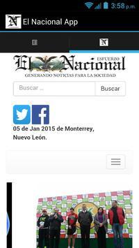 Periódico el Nacional poster