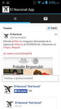 Periódico el Nacional apk screenshot
