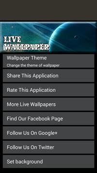 Space Live Wallpaper apk screenshot