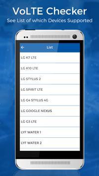 VoLTE 4G Phone Checker apk screenshot