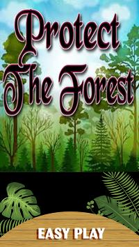 PROTECT THE FOREST poster
