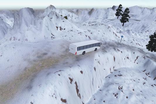 3D Snow Bus Drive apk screenshot