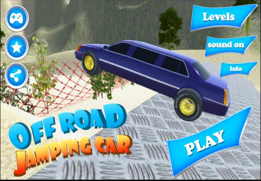 Off Road Jumping Car poster
