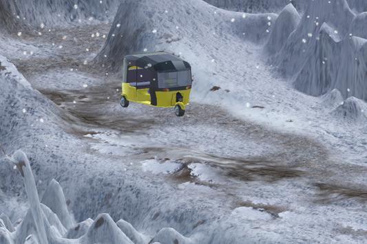 Auto Rickshaw SnowFall Drive apk screenshot