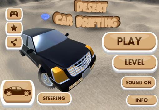 Desert Car Drifting poster