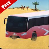 3D Desert Safari Tour Bus icon